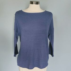 Anthropologie W5 Side Button Blouse